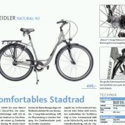Fragment recenzji roweru Kreidler Natural N3