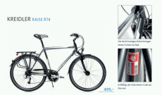 Fragment recenzji roweru Kreidler Raise RT4