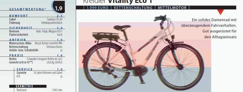 Recenzja roweru Kreidler Vitality Eco 1