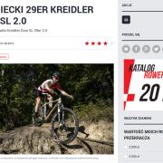 Fragment recenzji roweru Kreidler Dice SL 29R 2.0