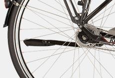 rowery elektryczna - 3 - wymiarowa końcówka widełek
