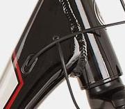 rowery elektryczne - ciągi kabli