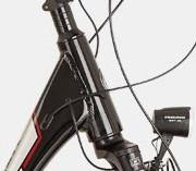 Rowery elektryczne - stożkowa rura