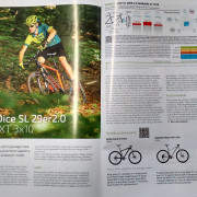 Fragment recenzji roweru Kreidler Dice SL 29er 2.0