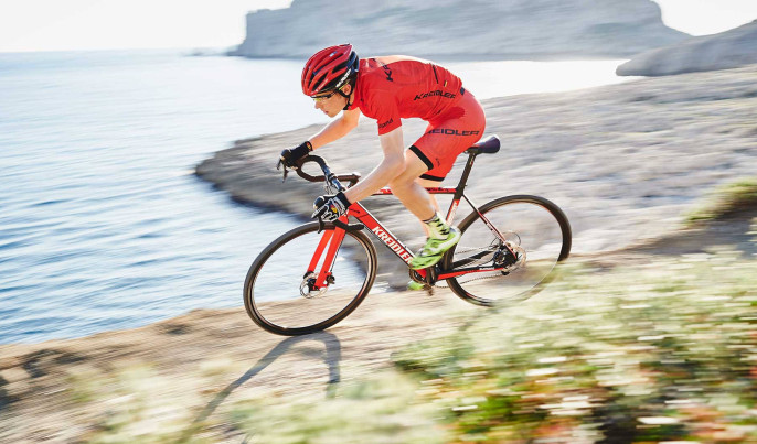 Rower przełajowy Kreidler Cross Carbon 01 (mat. pras.)