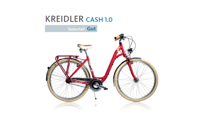 Fragment recenzji roweru Kreidler Cash 1.0 2