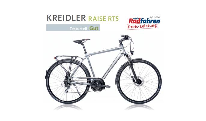 Fragment recenzji roweru Kreidler Raise RT5 2