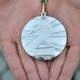 Medal za zajęcie 2. miejsca w III etapie Beskidy MTB Trophy 2016 (fot. Katarzyna Serafin) FB