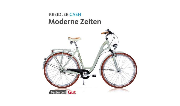 www Fragment recenzji roweru Kreidler Cash 3.0