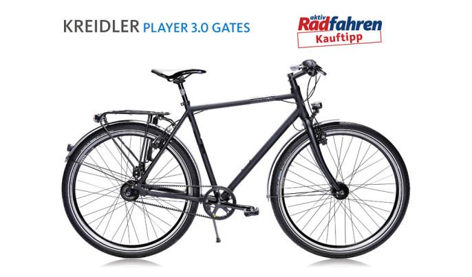 www Fragment recenzji roweru Kreidler Player 3.0