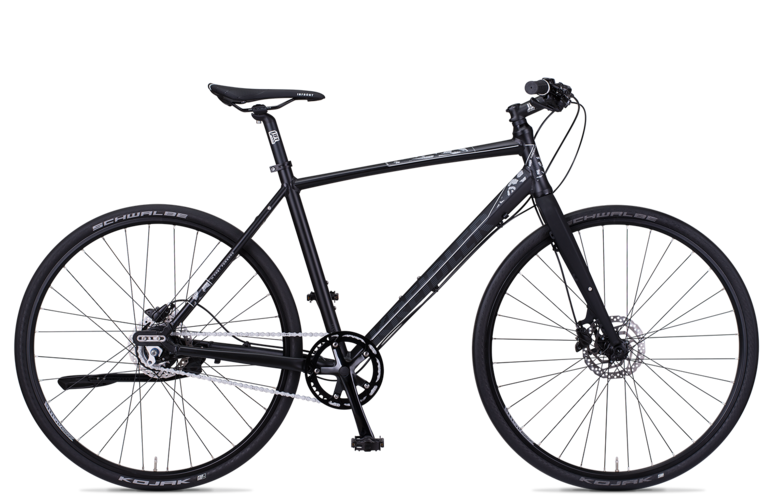 Kreidler Small Blind 1.0 - Shimano Nexus 8-biegów / Disc - rower trekkingowy