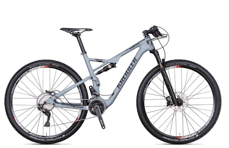 Kreidler Stud FS 3.0 - Shimano SLX 2x11 / biegów - rower górski