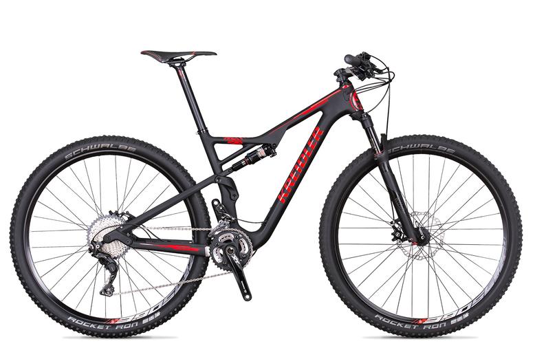 Kreidler Stud FS 4.0 - Shimano XT 2x11 / biegów - rower górski