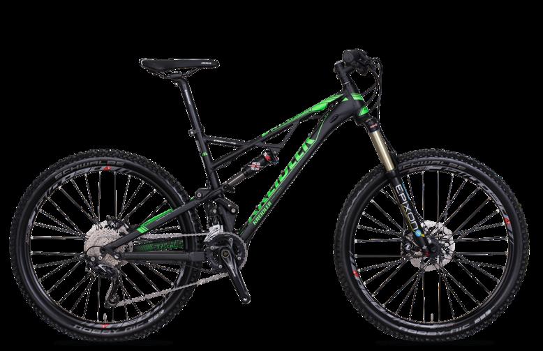 Kreidler Straight - Shimano Deore 2x10 / biegów - rower górski