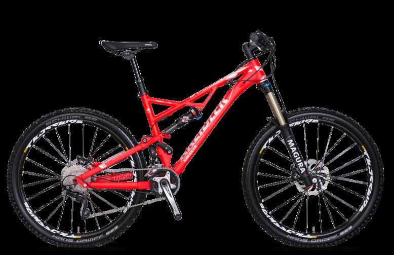 Kreidler Straight 1.0 - Shimano XT 2x10 / biegów - rower górski