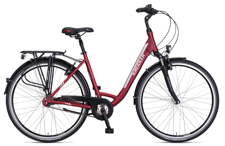 Kreidler Raise RT4 NL - Shimano Nexus 7-biegów FL / V-Brake - rower trekkingowy