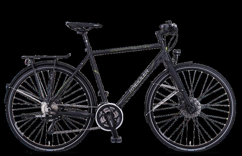 Kreidler Raise RT8 Light Shimano XT 3X10 biegów - rower trekkingowy